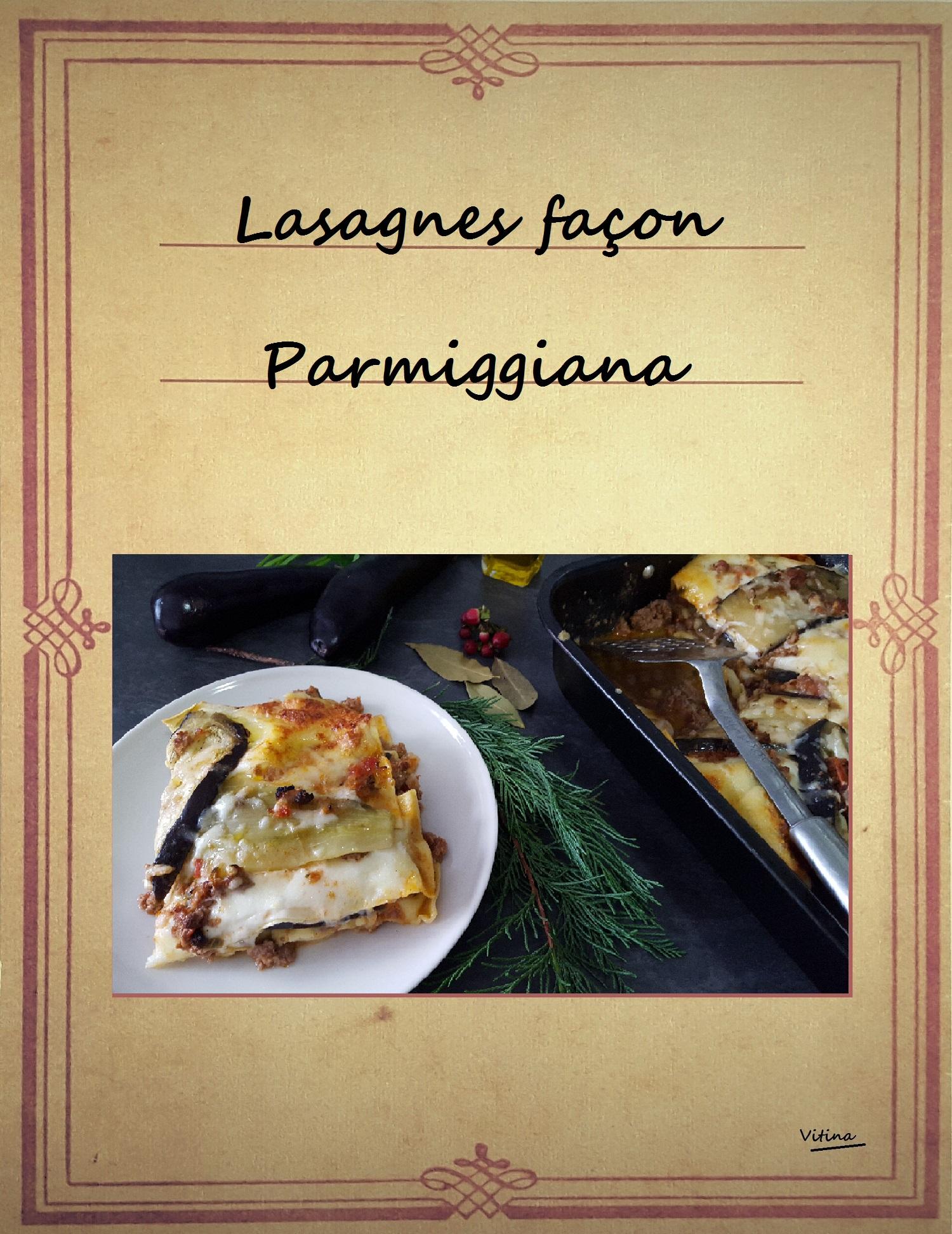 Lasagnes façon parmiggiana